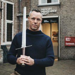 Hans Goedkoop bij Museum Prinsenhof Delft